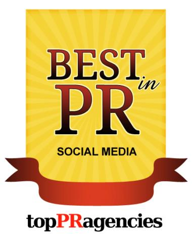 Top PR Agencies, Social Media Marketing Agency - #1