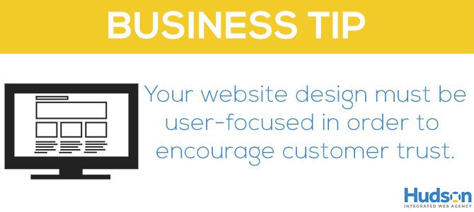 What does your website say about your business?