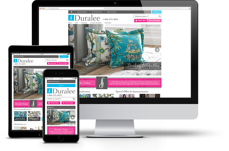 Duralee device agnostic