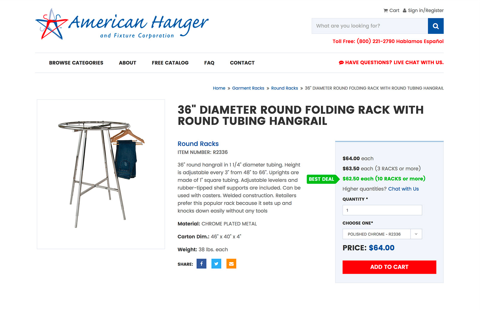 American Hanger and Fixture Corporation Image 1