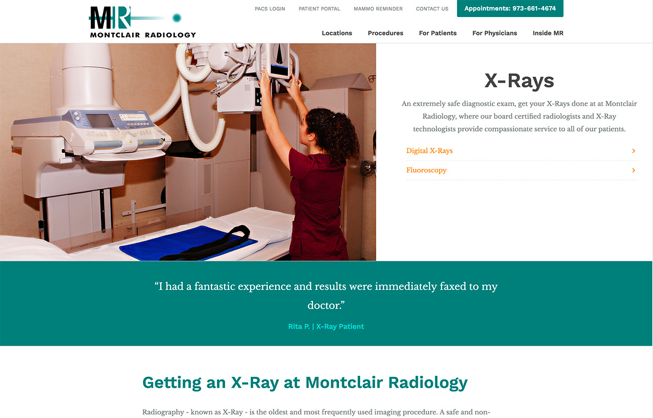 Montclair Radiology Image 1
