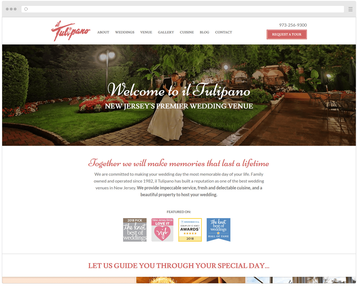 New Il Tulipano Homepage