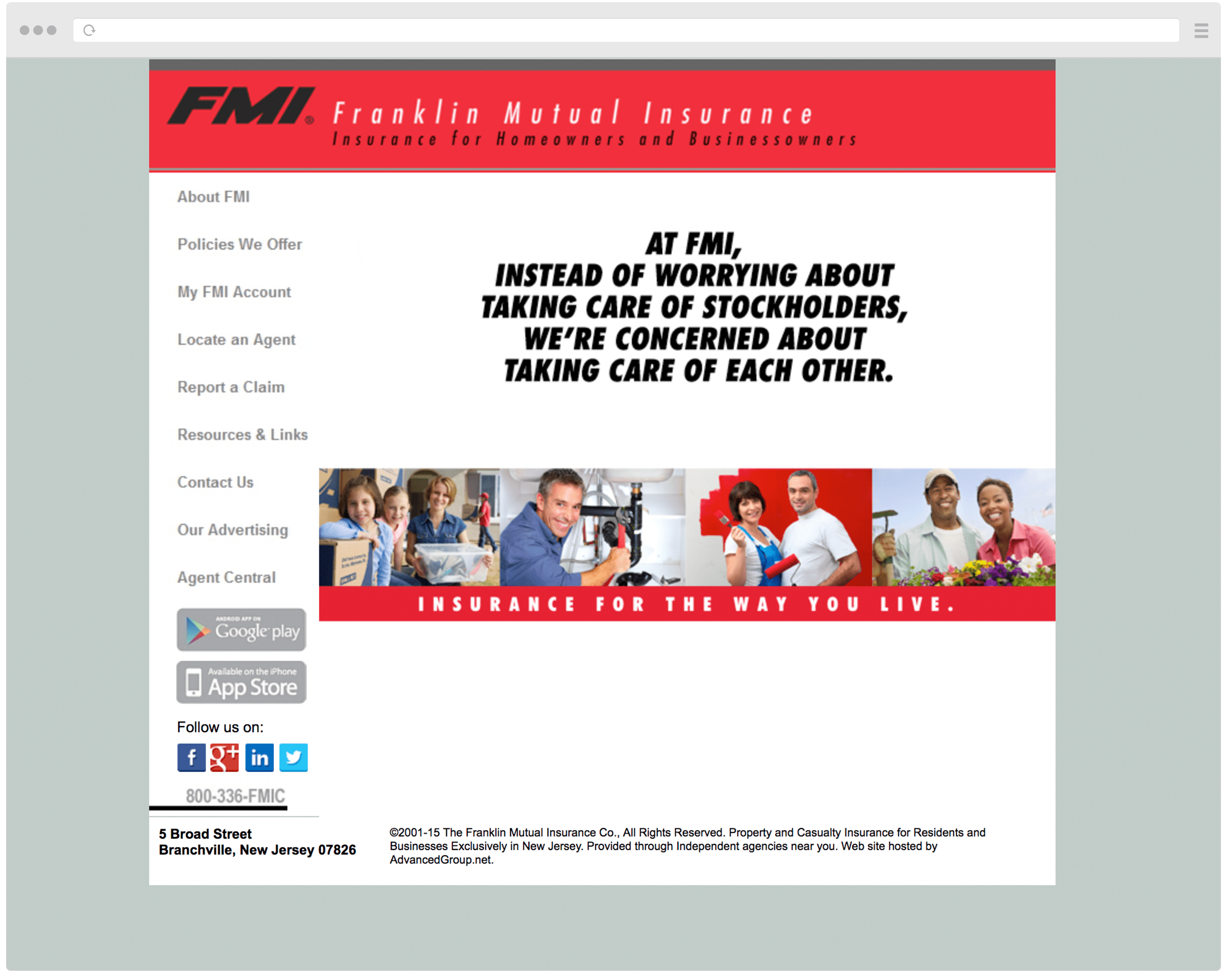 Old FMI Homepage