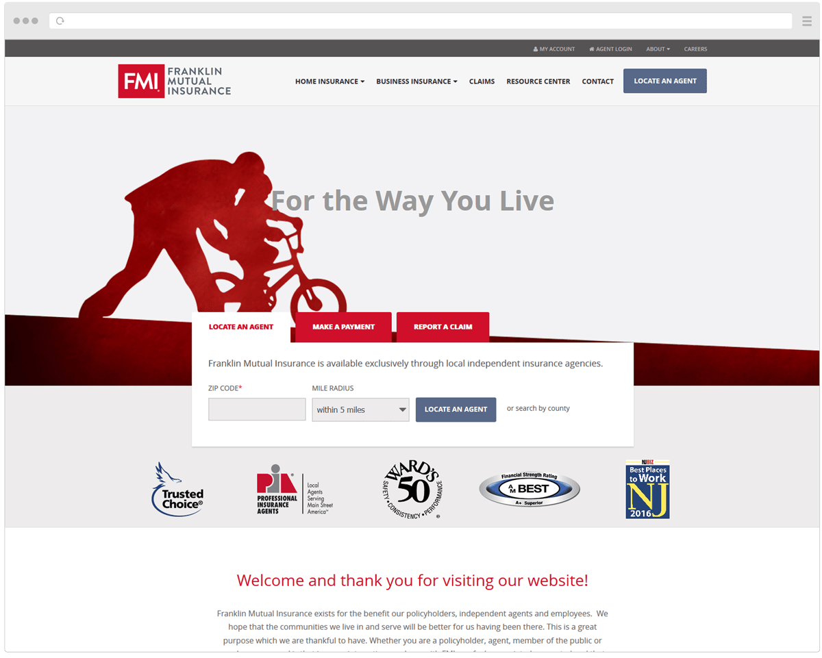 New FMI Homepage