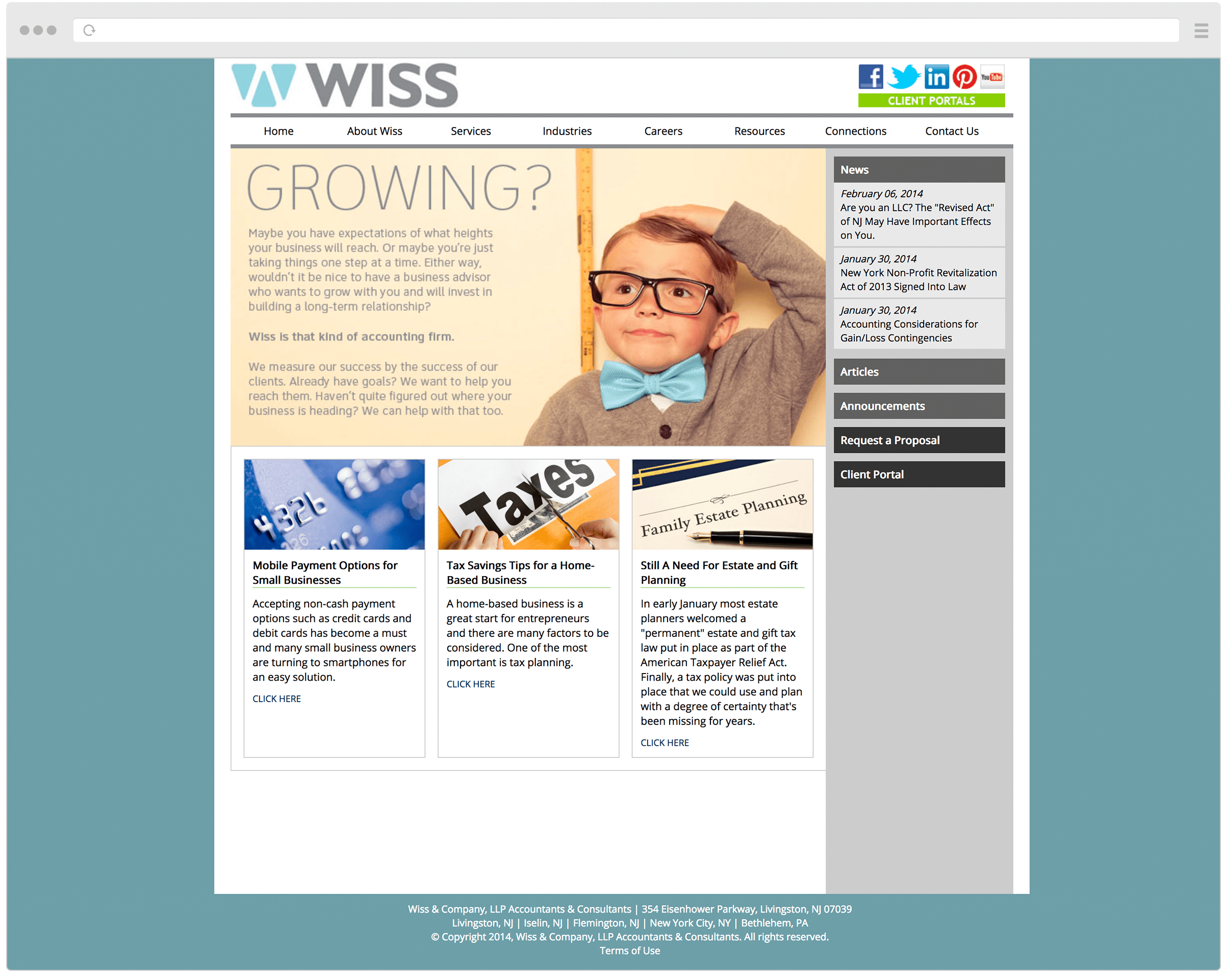 Old Wiss Homepage