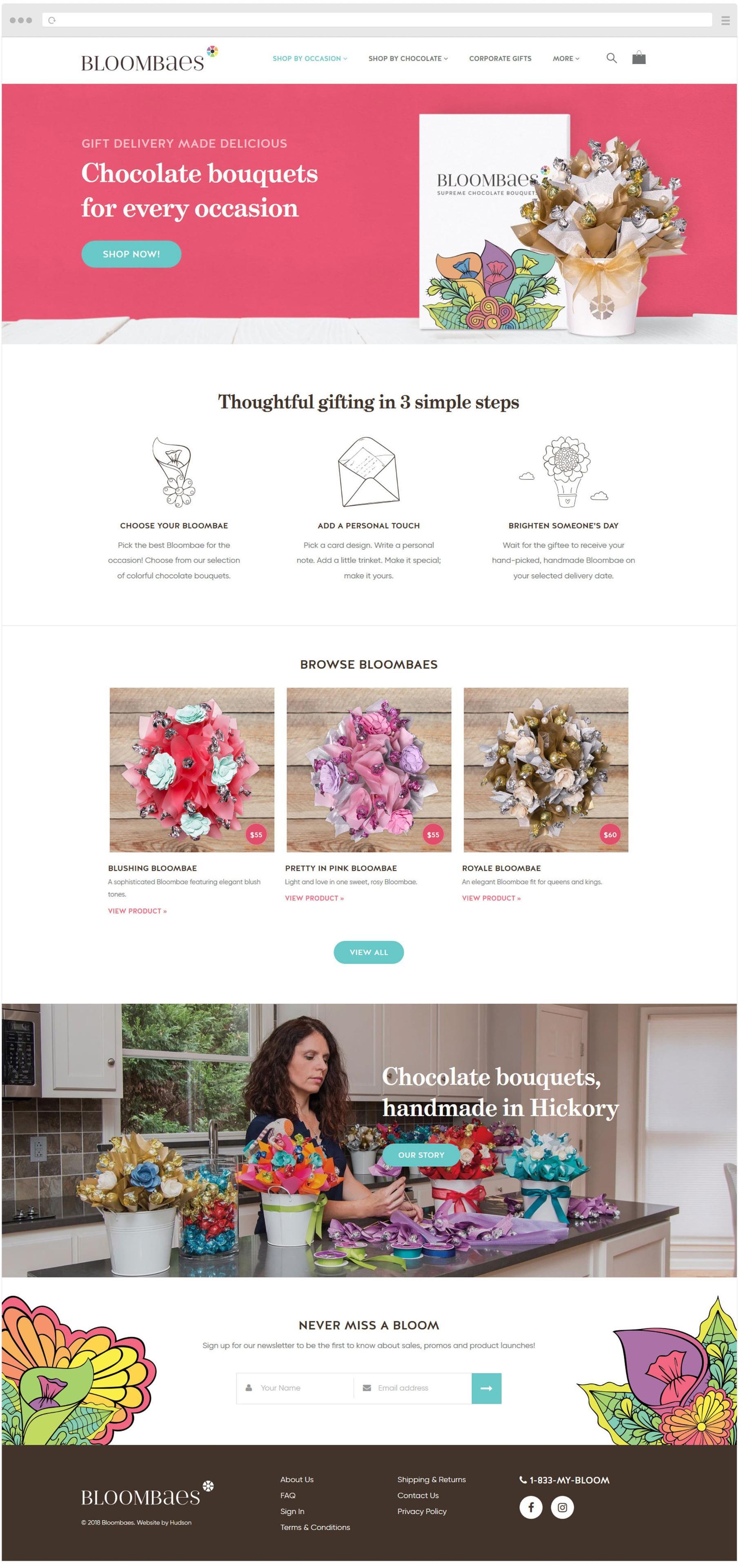 Bloombaes Homepage