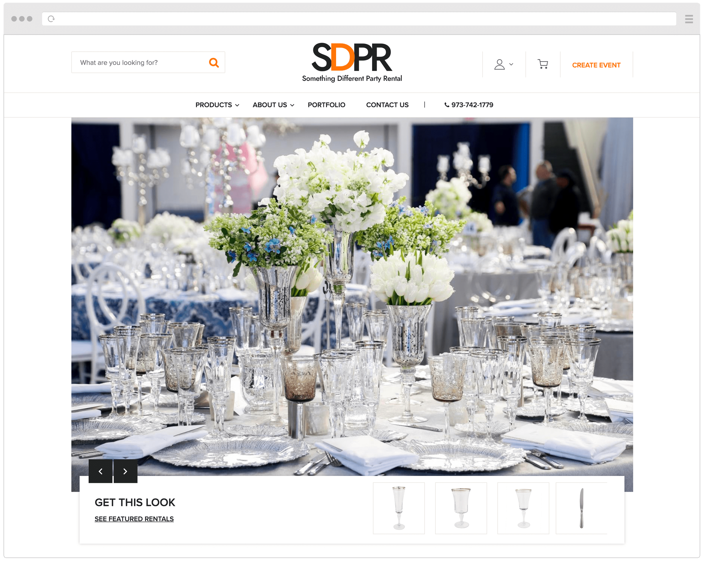 New Something Different Party Rental Website