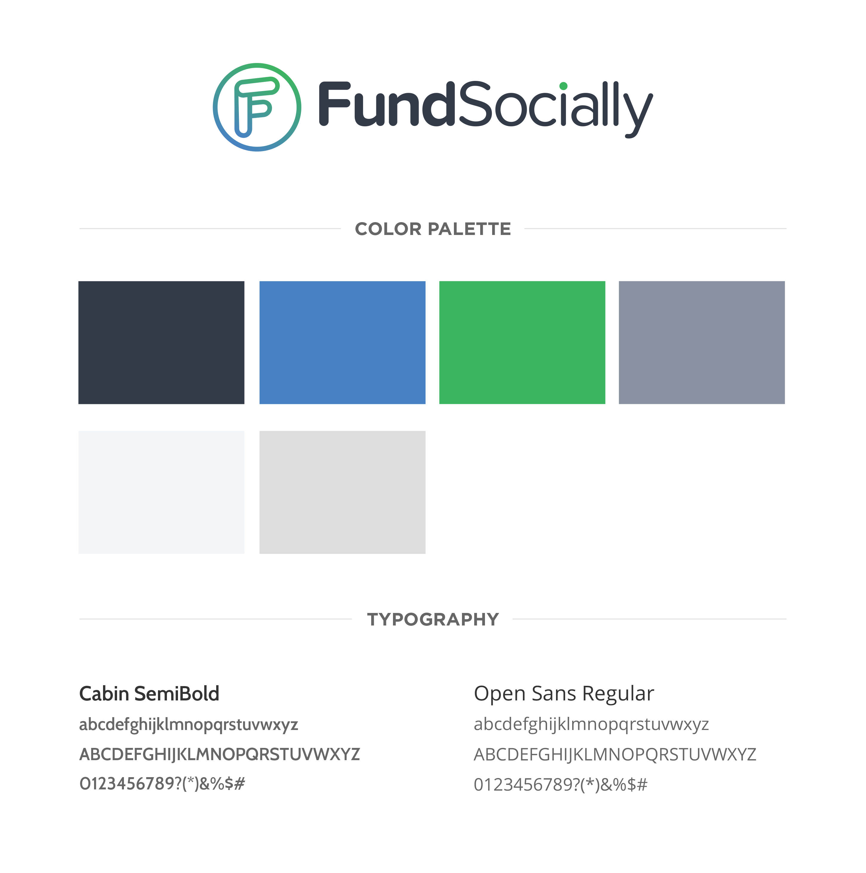 FundSocially style guide