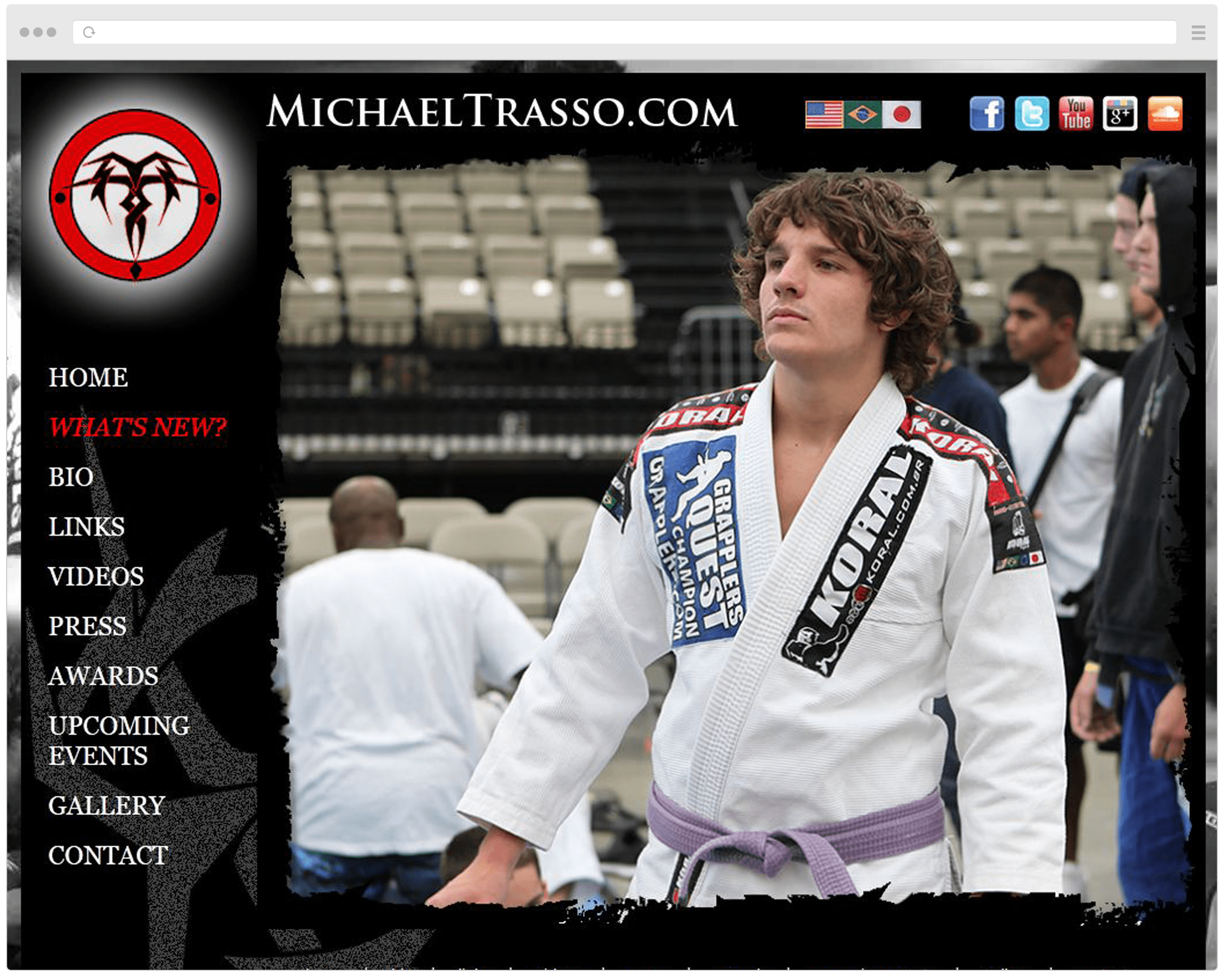 Michael Trasso Old Website