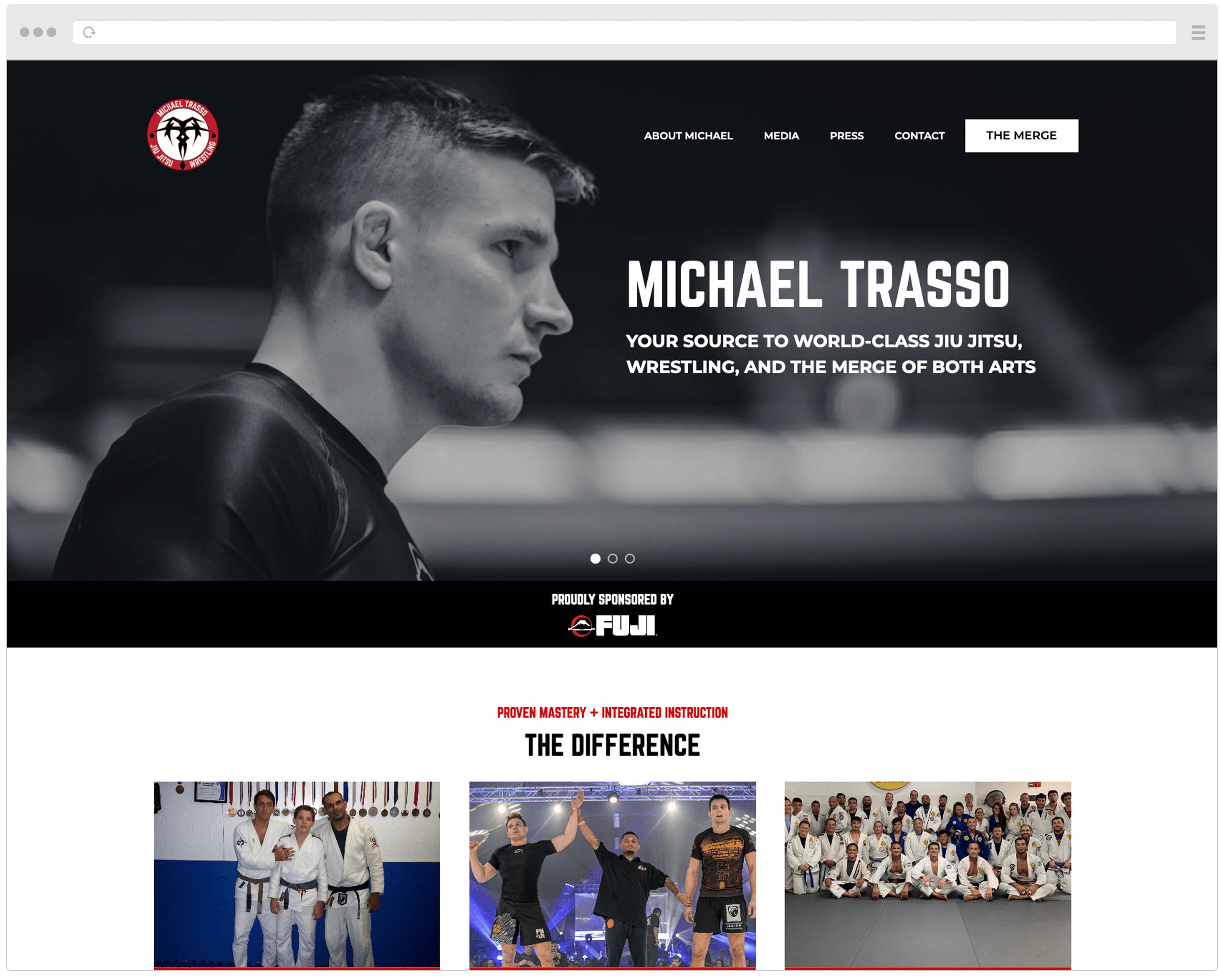 Michael Trasso New Website