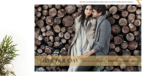 Ecommerce marketing holiday graphic