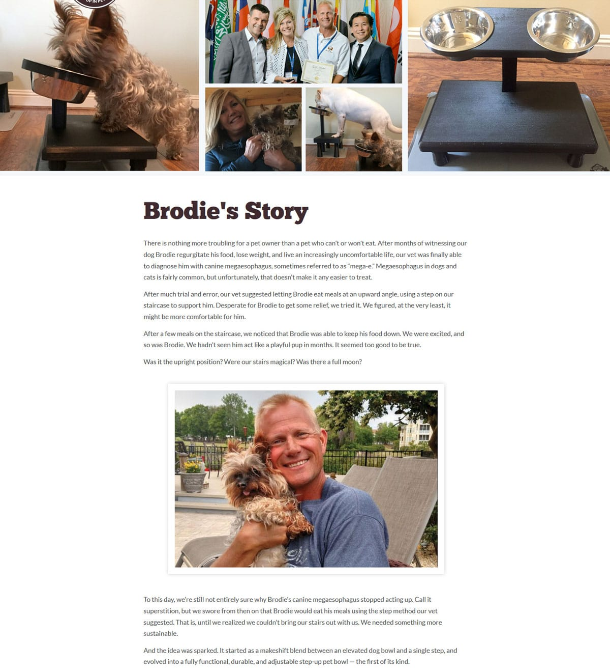 Brodie Bowl Story Page