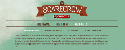 chipotle scarecrow website