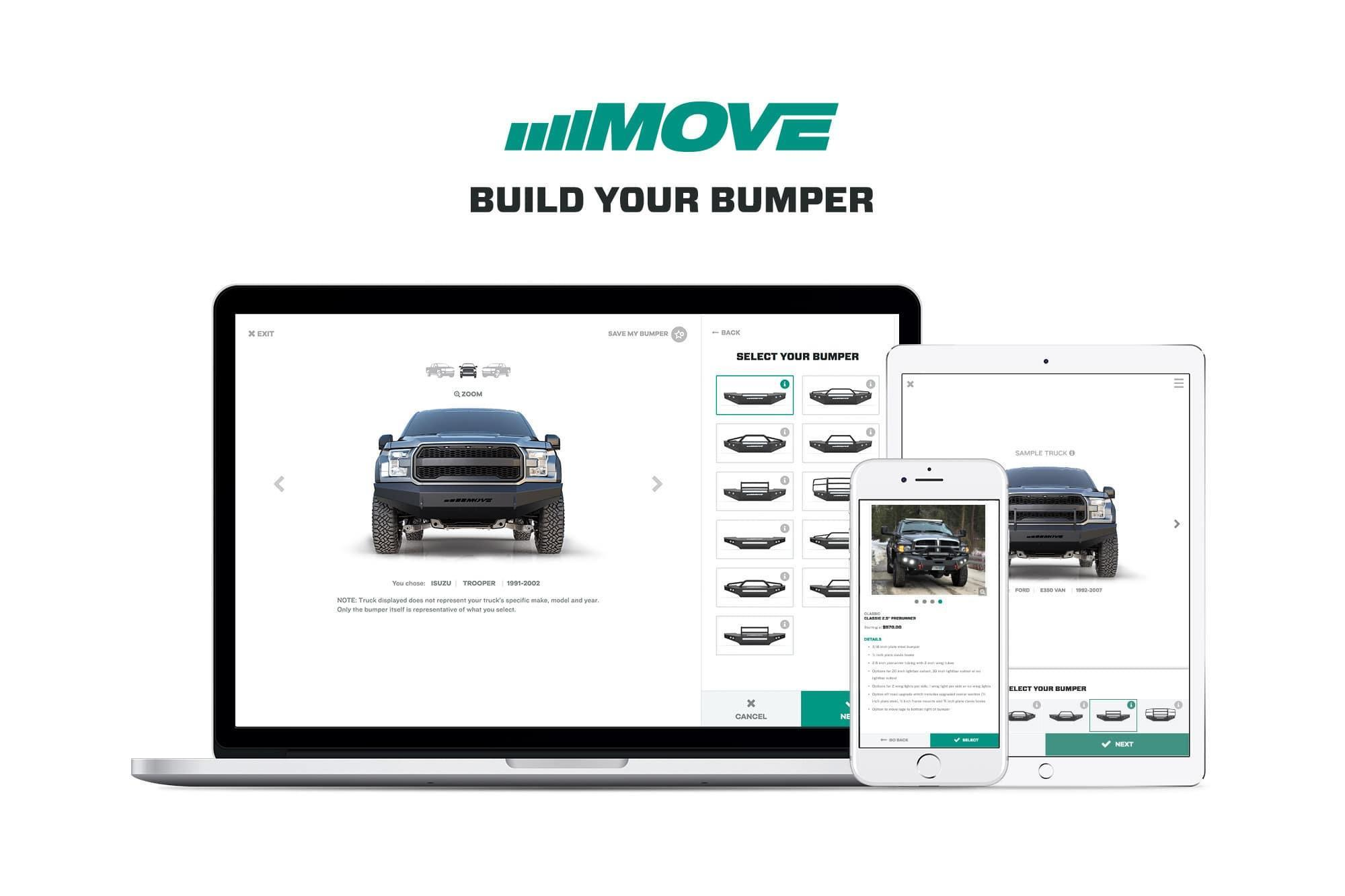 MOVE Bumpers Build-Your-Bumper